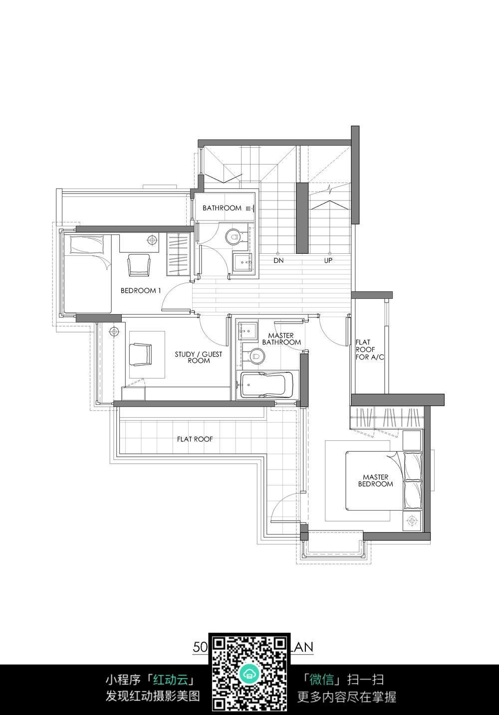 楼房cad建筑图纸图片免费下载_红动网