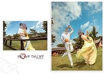 牧场婚纱摄影海报