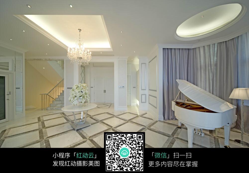白色优雅室内装修效果图图片