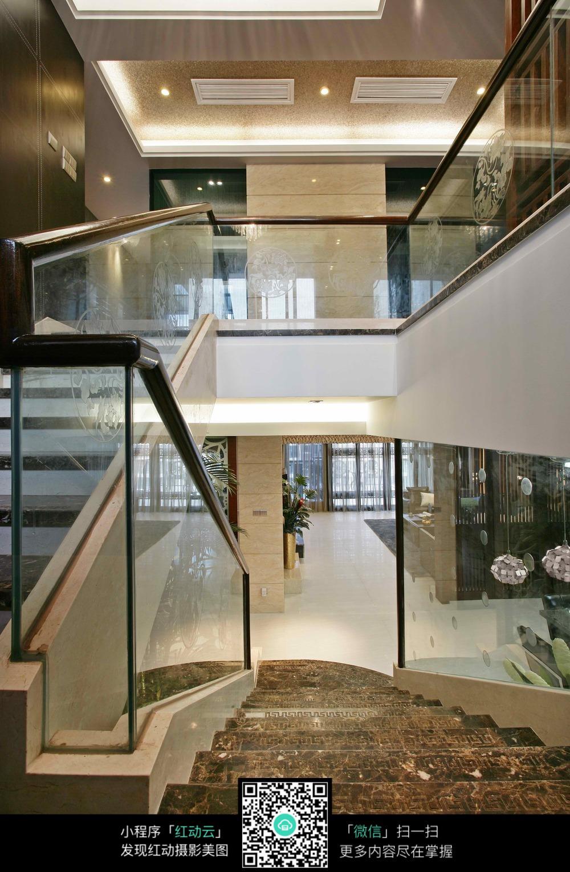 大理石楼梯地板