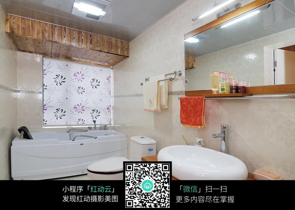 创意浴室洗手间设计图片