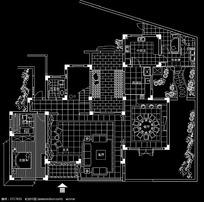 独立式别墅一层平面布置图