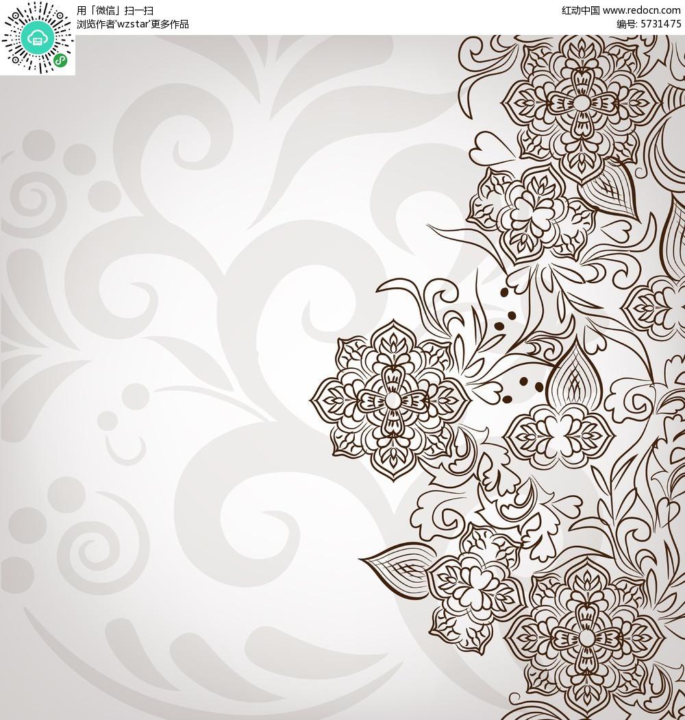 清新背景  背景素材  简约设计   手绘素材  设计素材  贺卡背景 封面