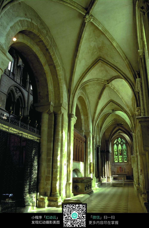 欧式古典的室内通道设计