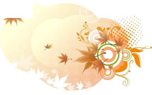 免费素材 矢量素材 花纹边框 其他 枫叶创意花纹  请您分享: 素材描述