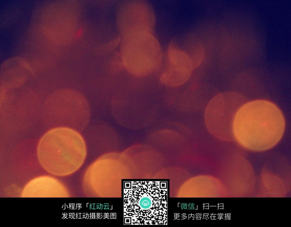 夜色中的暖色灯光模糊背景素材图片免费下载 编号5776625 红动网图片