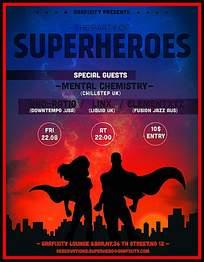超级英雄海报设计