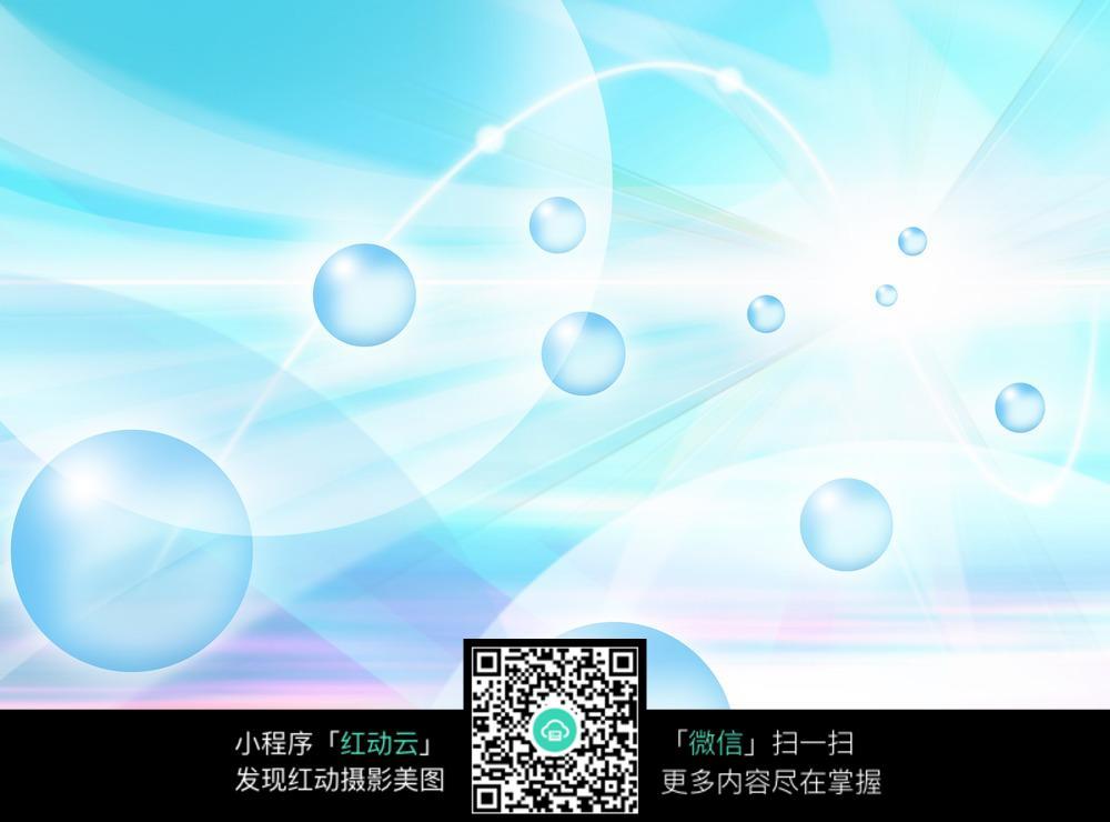 蓝底水珠纹理背景图片JPG图片免费下载 编号5787573 红动网图片