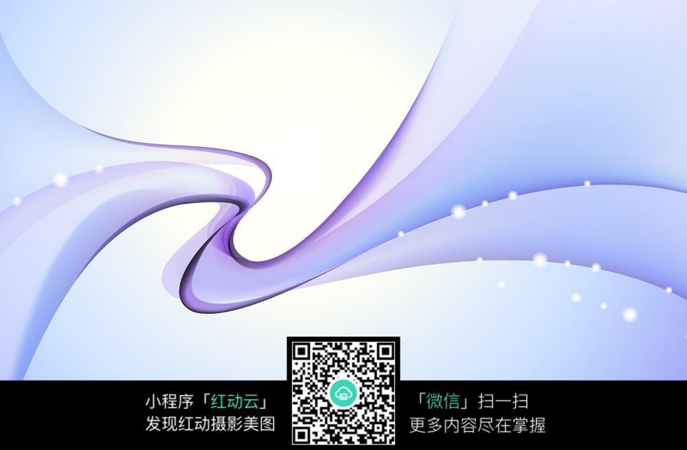 紫色简约线条背景素材图片