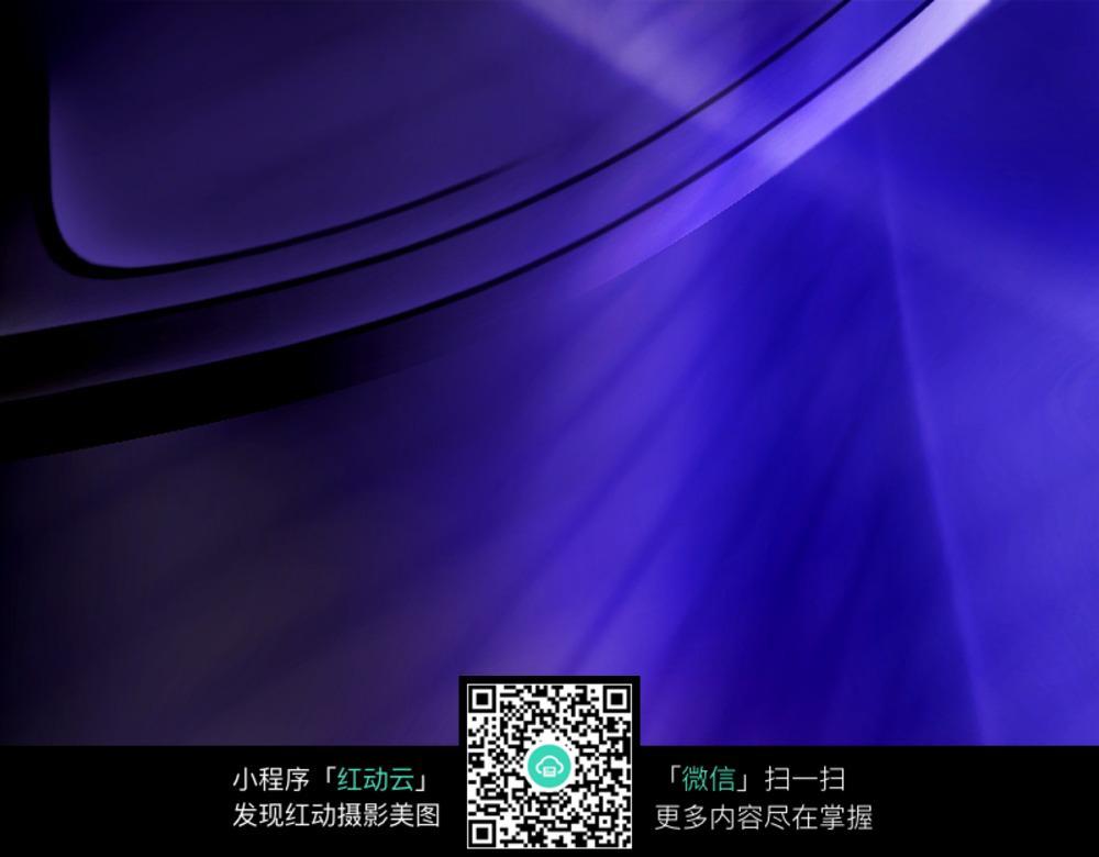 深蓝抽象渐变背景素材图片