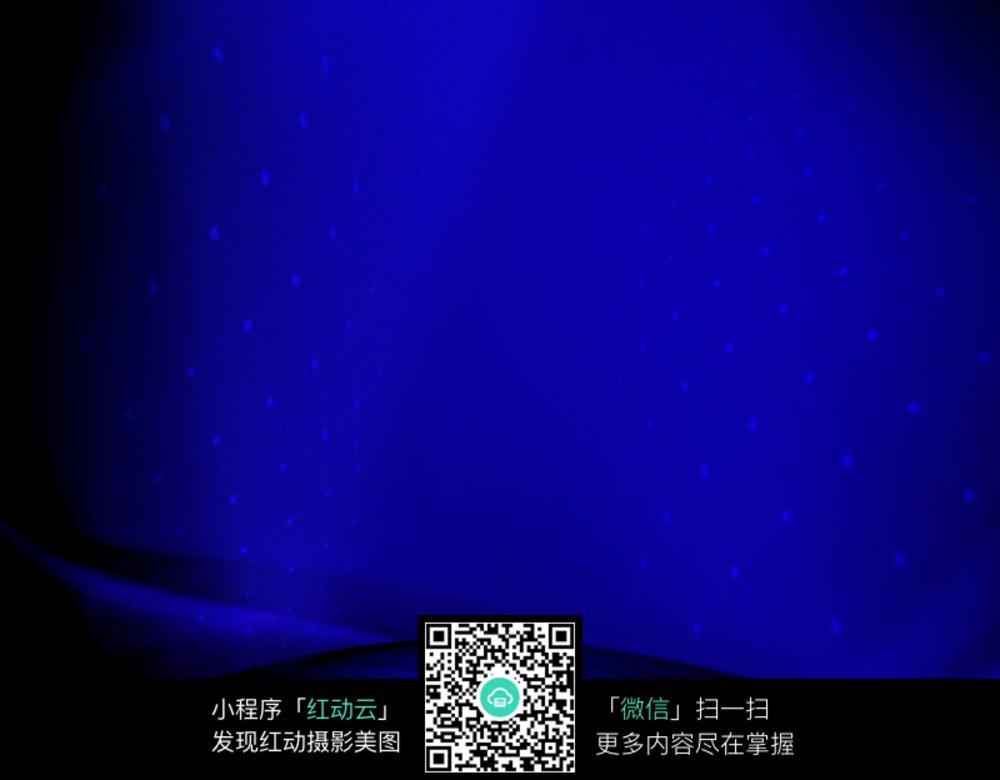 深蓝色舞台灯光图片