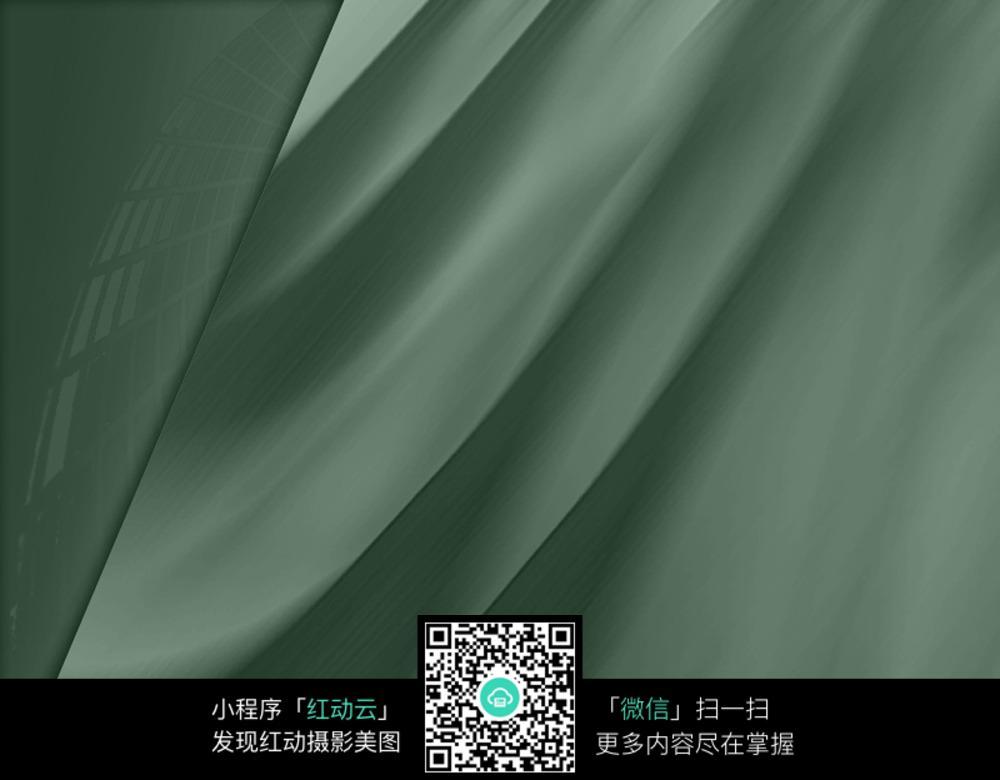 深墨绿 丝绸质感模糊 背景 素材 其他图片 红动图片