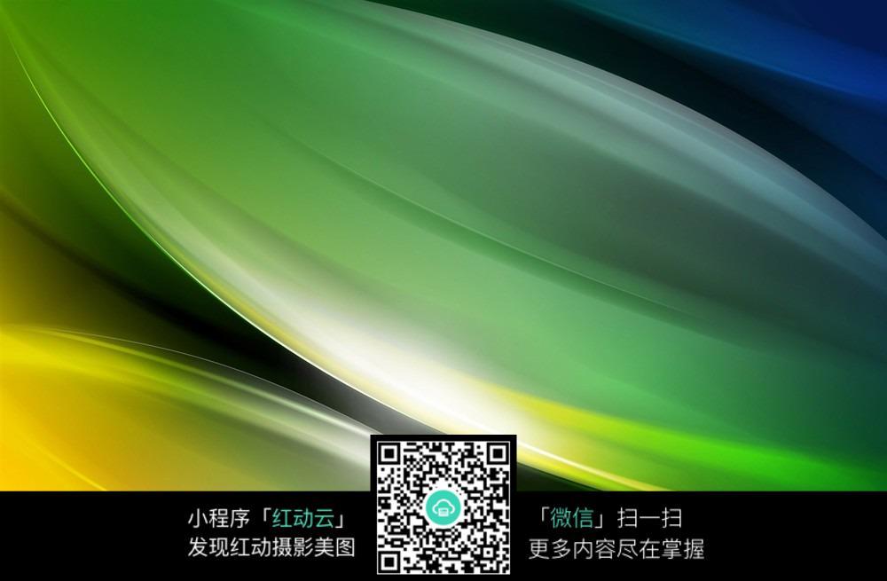 黄绿色竹叶背景素材
