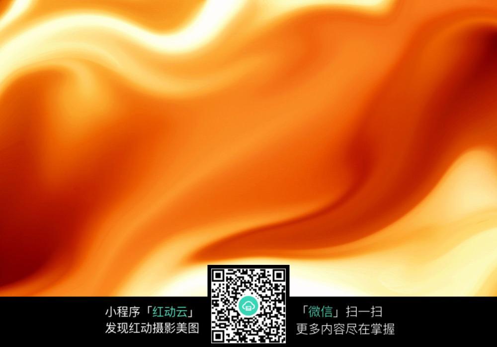 橘红丝绸质感条纹模糊背景素材图片免费下载 红动网图片