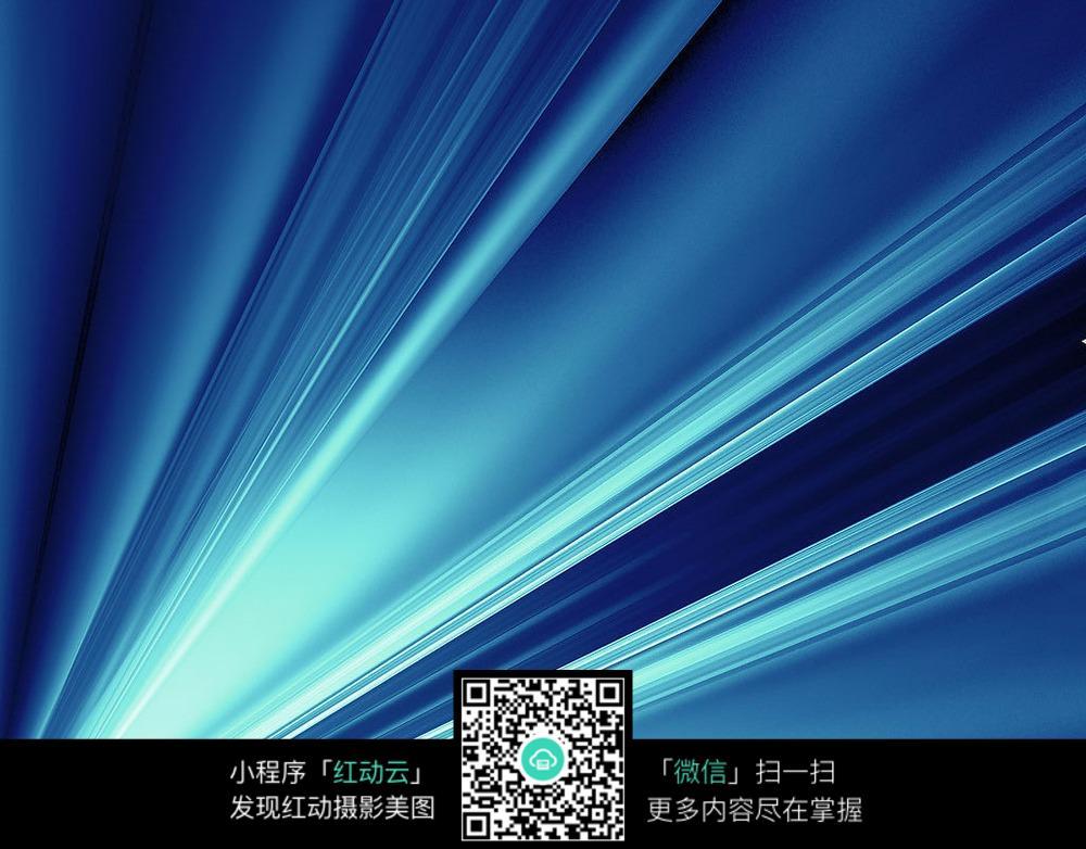 光�9aby�%_简约蓝色光束背景素材