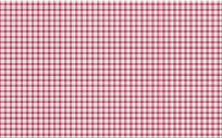 玫红色格子布纹印花