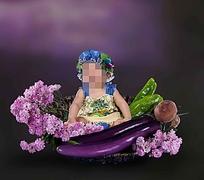 蔬菜宝宝儿童摄影