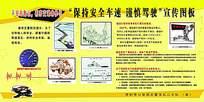 安全驾驶宣传海报