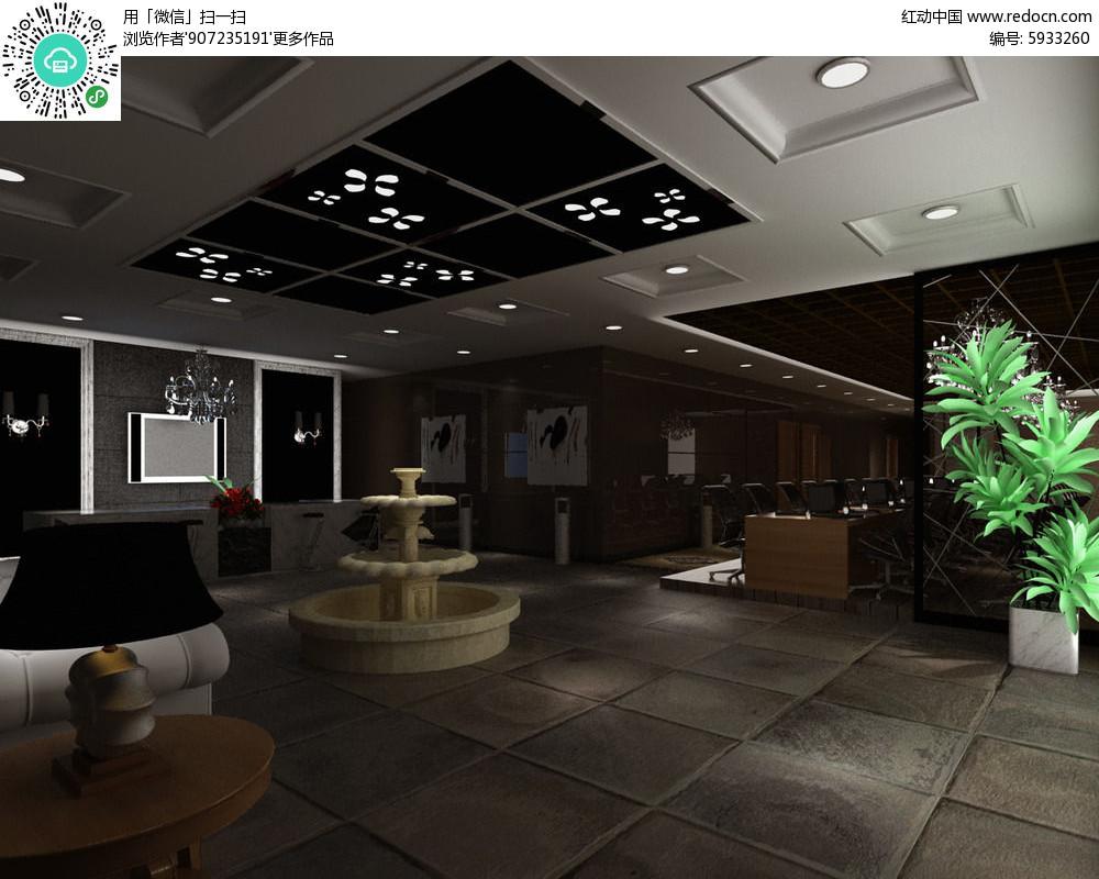 免费素材 3d素材 3d模型 室内设计 工装