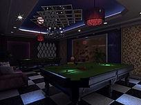 工装台球室