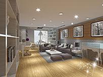 现代房间设计