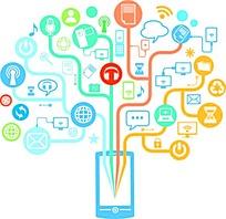 电子商务图案