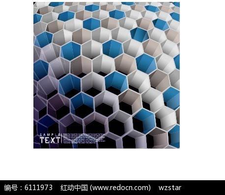 蜂窝底纹背景图片