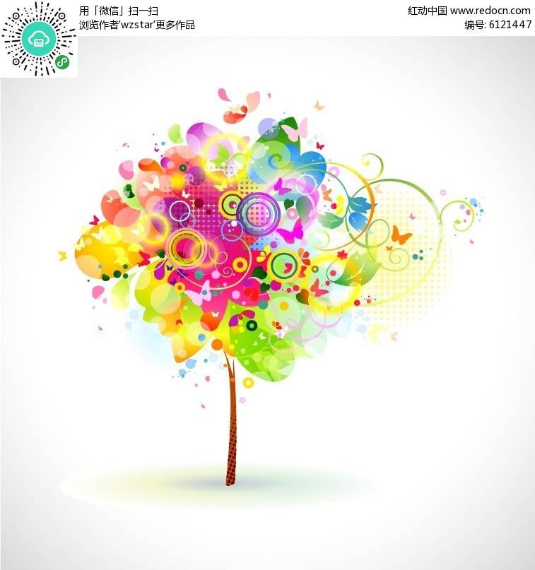 创意大树背景设计
