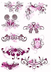 镂空对称花边设计