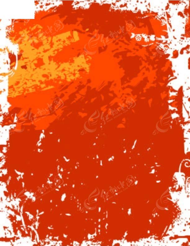 原创手绘温暖红色调背景设计矢量