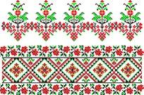 花边十字绣图案设计