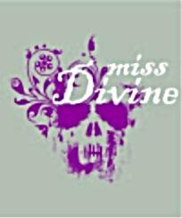 神秘紫色骷髅头抽象图案矢量素材