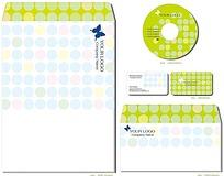 手绘风格CD盒CD贴包装设计