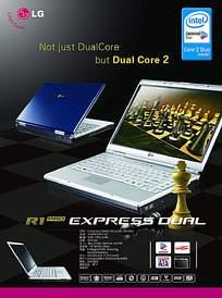 LG笔记本宣传广告模板ai