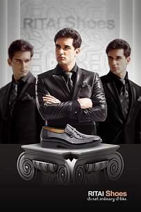 男鞋海报设计