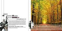 枫叶林房地产宣传海报
