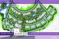 全景概念图房地产宣传海报