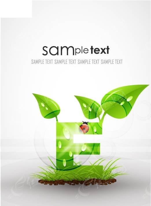 绿色创意字母fai免费下载图片