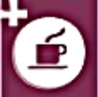 咖啡紫红色图标素材