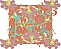 中国风格古典花纹边框素材
