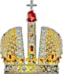 俄国风格镶钻皇冠矢量图
