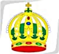 红绿宝石金色皇冠图标