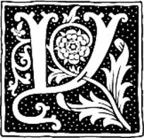 花纹线条字母组合底纹素材