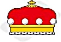 欧式皇冠矢量图标