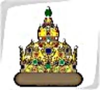 泰式风格皇冠矢量图