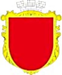 红底金边皇冠徽章