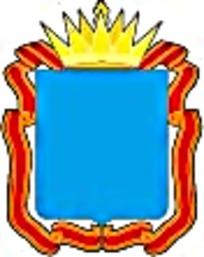 红色丝带金色皇冠徽章