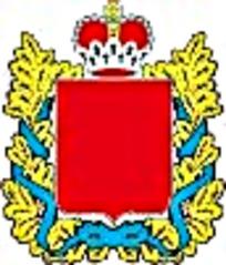 蓝色丝带皇冠徽章图