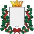 绿色花藤金色皇冠徽章图片