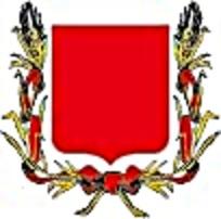 欧式麦穗徽章